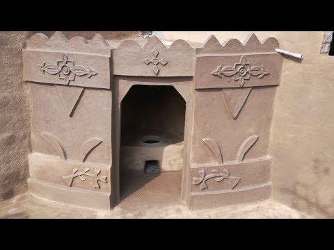 Village Style Kitchen | Desi Kitchen | Clay Kitchen | Mud Kitchen | Primitive Technology Kitchen