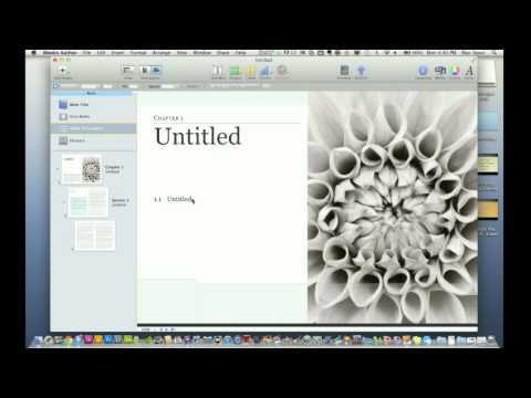 Apple's iBooks Author Quick Look Review (Self Publishing Application)