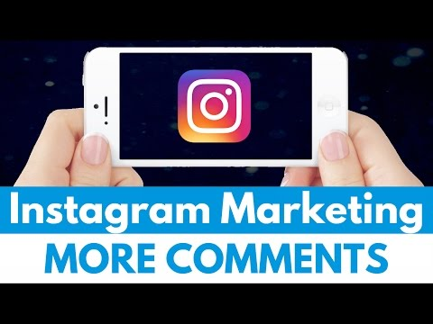 Easy Way to Get More Comments - Instagram Marketing