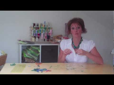 How To Make A Button Necklace Video Tutorial