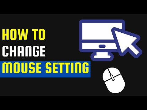 How to change Mouse Touchpad Setting in Windows Computer or Laptop