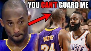 The Time James Harden TRASH TALKED Kobe Bryant In The NBA (Ft. Lunch, Games, Sad Boi Hours)
