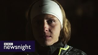 Yuliya Stepanova: The athlete who blew the whistle on Russian doping  - BBC Newsnight