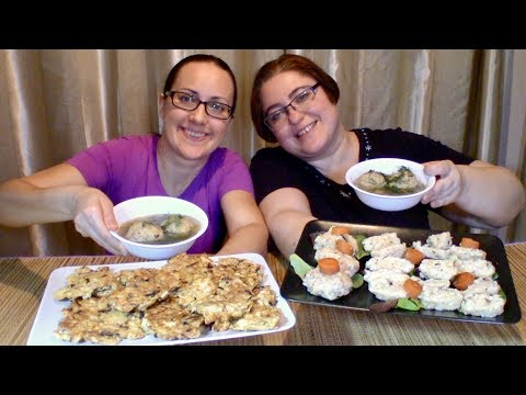 Passover Meal   Gay Family Mukbang (먹방) - Eating Show