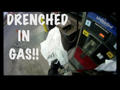 Drenched/Sprayed in Gasoline!! [crazy pump failure story]