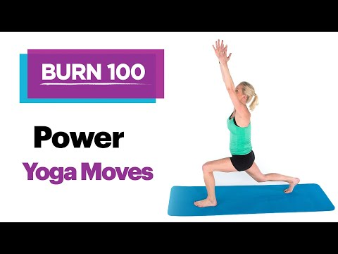 Yoga Moves for Balance, Strength–Quick & Easy At-Home Workout Routine–SELF's Burn 100 Calories
