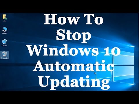 How to turn OFF Window 10 updates 1