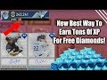 New Best Way To Earn Tons Of XP Fast For Great Free Diamond Rewards! MLB The Show 19 Diamond Dynasty