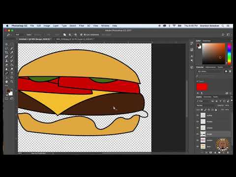 How to Turn A Hand Sketch Into a Digital Illustration using Photoshop