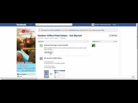 Must Watch Video on Getting Started on Your Facebook Business Page