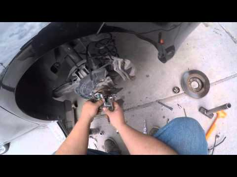 2013 Dodge Dart Wheel Bearing Replacement.