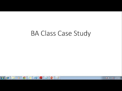 Business Analyst Training - Case Study by ELearningLine @848-200-0448