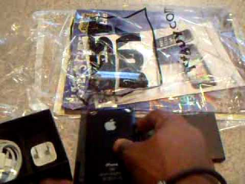 Unboxing 3gs Iphone