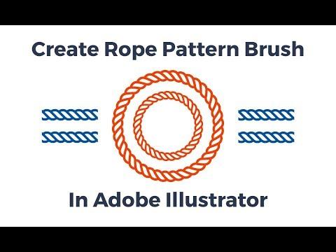 Create a Rope Pattern Brush in Adobe Illustrator