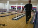 How to score a strike in 10-pin bowling