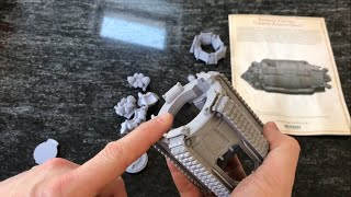Aurox Armoured Transport by Forge World: Out of The Pack