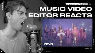 Video Editor Reacts to Lady Gaga, Ariana Grande - Rain On Me