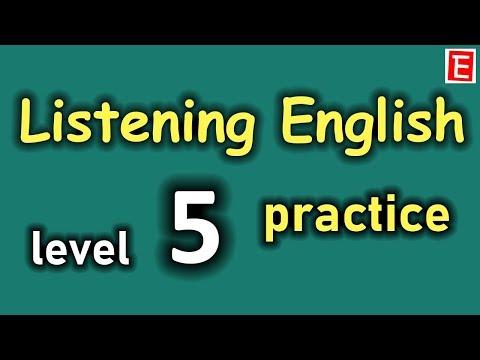 Listening English Practice Level 5 | Improve Listening Skill | Learn to Speak English Fluently