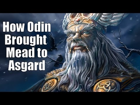 ASMR - How Odin Brought the Mead to Asgard + Thunder and Rain - Male Voice WHISPERING [ Binaural ]
