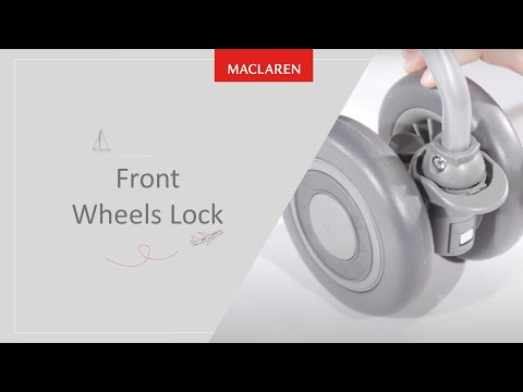 How to lock Front Wheels