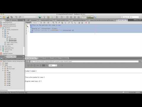 Simple Example angularJS and JavaEE