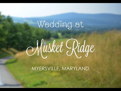 Musket Ridge Wedding