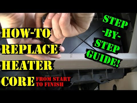 99-07 Ford Super Duty - Heater Core Replacement (Step-by-Step Guide)