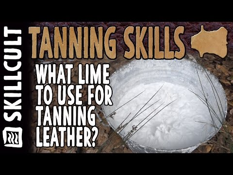 What Type of Lime to Use for Tanning and Rawhide and Where to Get It (lime cycle)