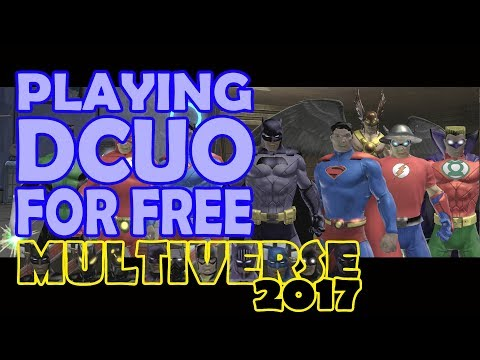 Playing DC Universe Online for FREE