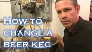 How To Change A Beer Keg