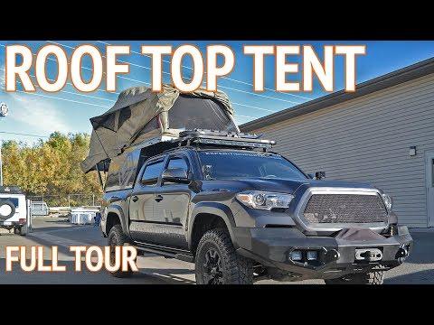 Ultimate Roof Top Tent   Overland Truck Camper