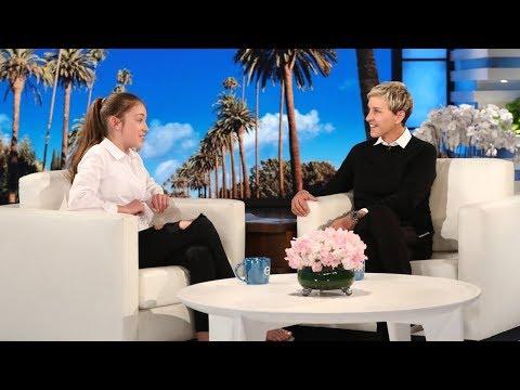 12-Year-Old Irish Busker Brings Her Amazing Talents to Ellen