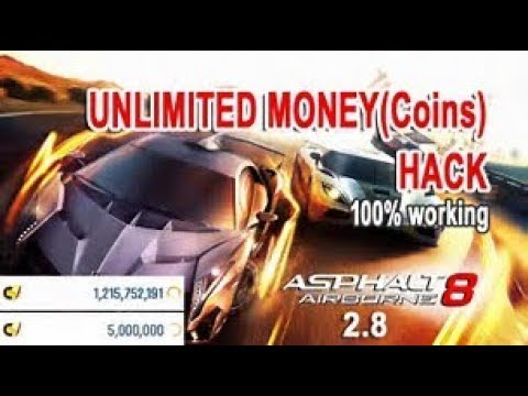 Asphalt 8 Airborne Hack - Money Hack For Android And IOS.