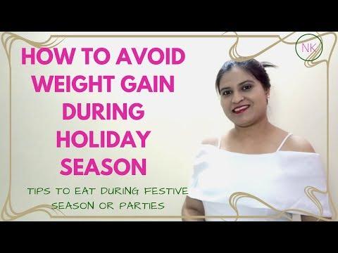 How to Avoid Weight Gain during Holidays | छुट्टियों पर वजन बढ़ाने से कैसे बचें | Nainja Kapoor