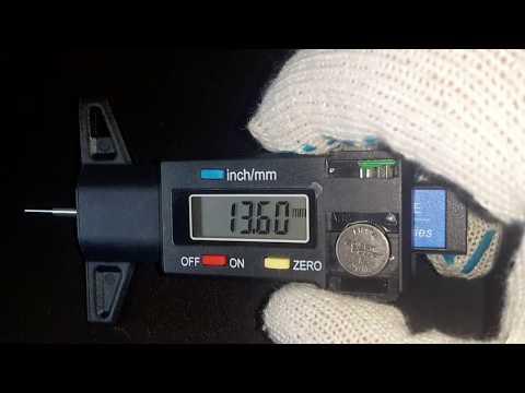 Car Tire Digital Tire Tread Depth Tester