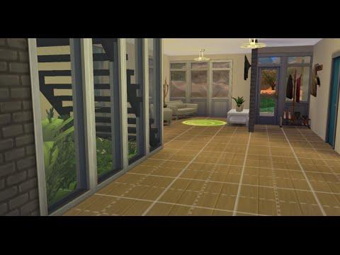 Garden Under The Stairs - Sims 4 Speed Build