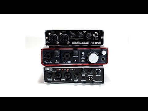 Audio Interface Basics: A 5 Minute Primer for Music Creators