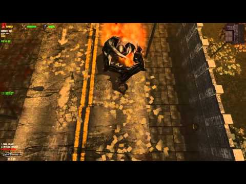 DEAD FRONTIER Flaming Black Titan vs Wraith Cannon