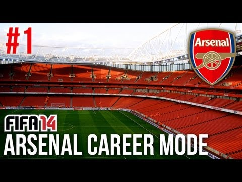 FIFA 14: Arsenal Career Mode - Episode #1 - A NEW BEGINNING!