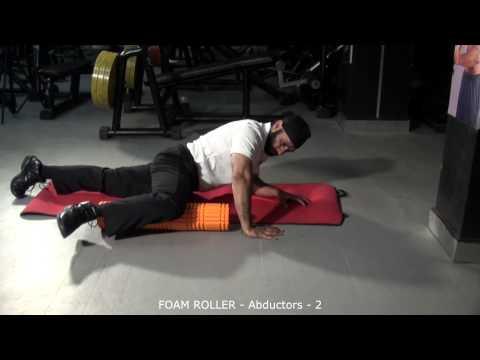 FOAM ROLLER - Abductors - 2