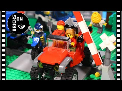 How to build a Lego Crooks Heavy Duty All Terrain Vehicle instructions / Lego City Mountain Police