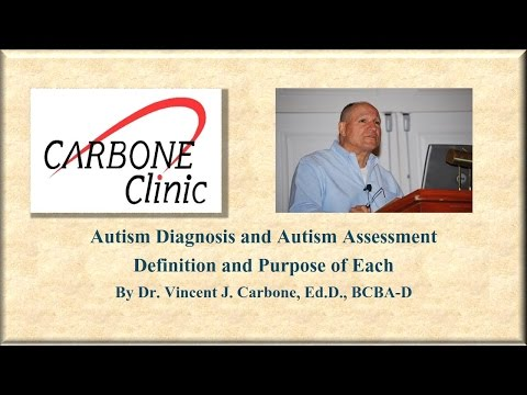 Autism Diagnosis and Autism Assessment by Dr. Carbone