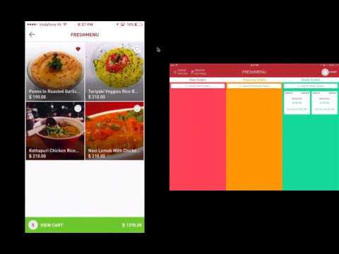 MENUze - Online food ordering app and script for pickup orders