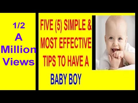 How To Have A baby Boy - How to get pregnant with a boy - 5 Great Tips to have a baby boy- Ladka