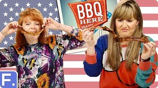 Irish People Try American BBQ