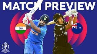 Download Match Preview - India v New Zealand   ICC Cricket World Cup 2019 Video
