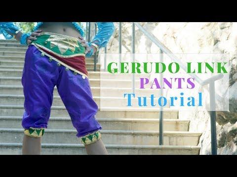 Gerudo Link Cosplay Tutorial: Pants