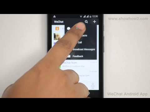 WeChat Android App - How To Create A Group Chat