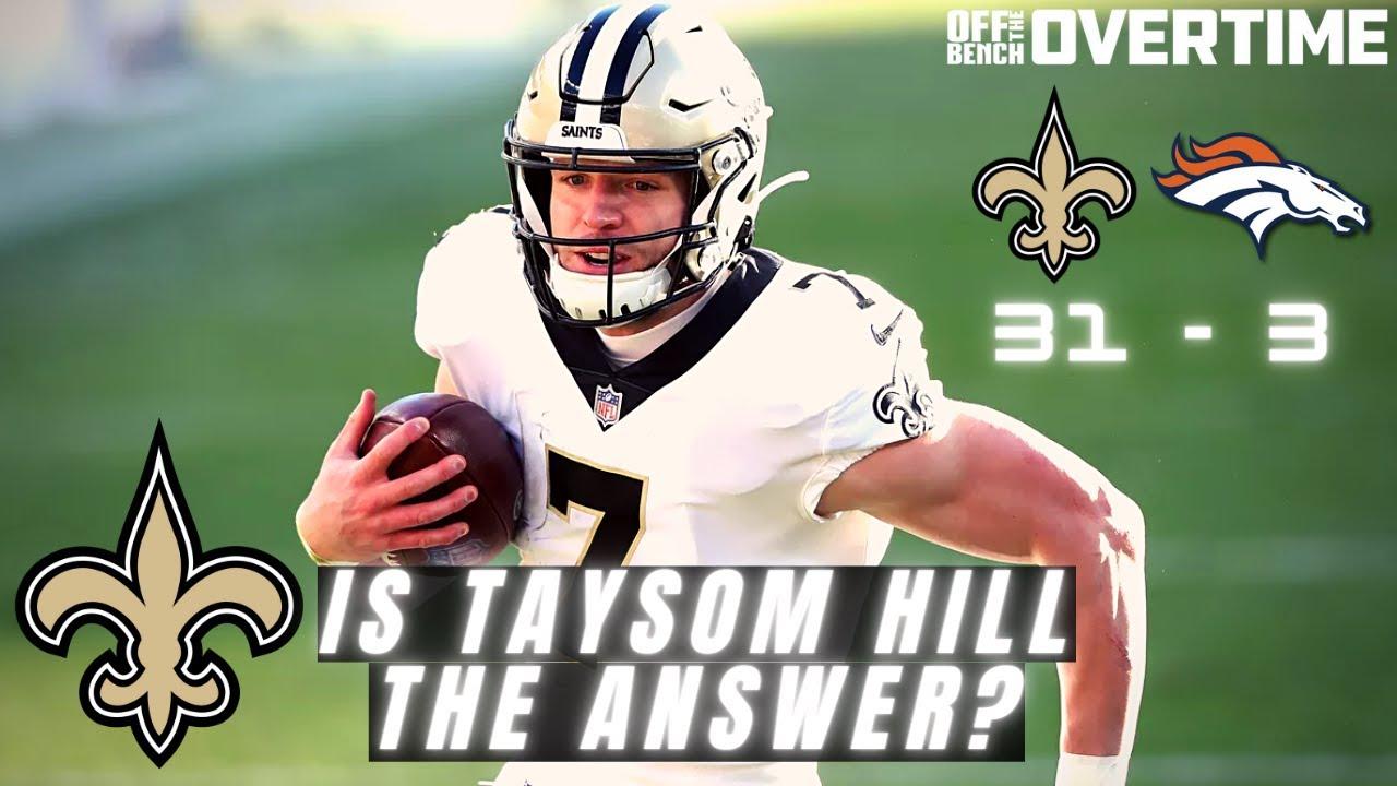 Is Taysom Hill the Saints answer at QB?