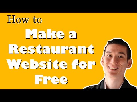 How to Make a Restaurant Website for FREE with No Coding/Technical Knowledge in 10 minutes